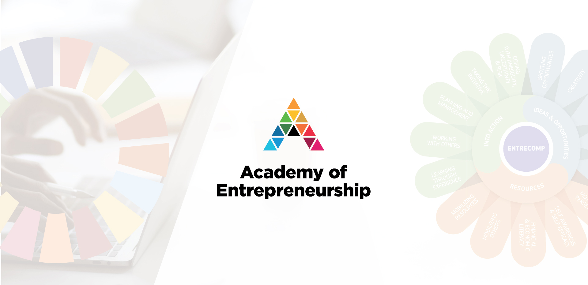 Academy of Entrepreneurship e-learning hub banner