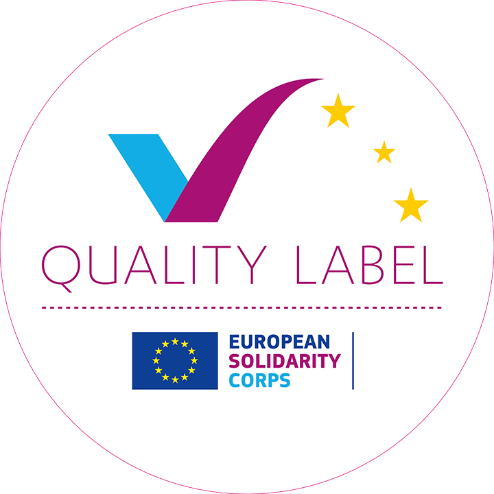 European Solidarity Korps - Quality Label - logo